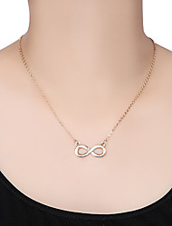 8 Infinite Pendant Necklace