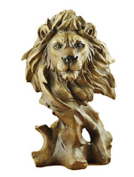 "11.25 ""H style moderne Polyrésine Lion Collectibles"