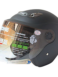 836-R109 High-Quality Ultraviolet-Proof Half Face Helmet (Black)