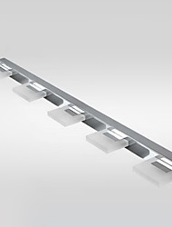 LED Light Muro, 5 Luce, Moderno, Metallo Arcylic Galvanotecnica