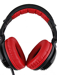 Sômica 6,3 milímetros EFI-82MT ergonômico Adapter 3,5 milímetros Headset witn Over-Ear para PC