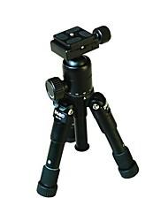 DEBO Q66 + Q33 Black Макросъемка рабочего Портативный мини-штатив шаровой головкой Хозяйка костюм зеркальные фотокамеры Штатив
