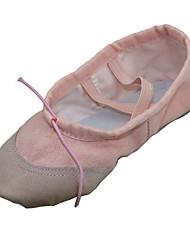 Women & Children's Canvas Split Sole Ballet Slipper Dance Shoes