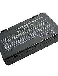 5200mah remplacement batterie d'ordinateur portable pour ASUS K50IJ K50I K50ID K50IN A32-F82 X8B X8d-Noir