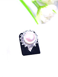 CUISHANG Natural Pearl Ring