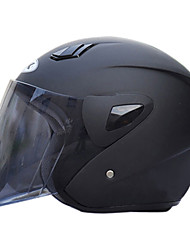 711-1 ABS Material Motorcycle Half Helmet (With The Tawny Lens,Optional Colors)