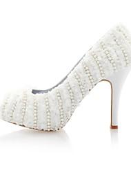 Satin Women's Wedding Stiletto Heel Pumps Heels Shoes