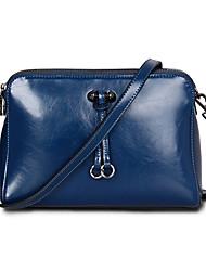Wax brevet Surface de sac d'épaule de cuir de Faux / emballage