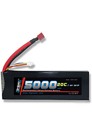DLG 7.4V 5000mAh 2S 20C Lipo Battery