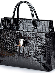 Stylish Crocodile Pattern Elegant Tote
