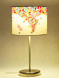 Table Lamps, 1 Light, Modern Stainless Steel Fabric Painting