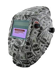 US Dollars Pattern Solar Auto Darkening PP Welding Mask