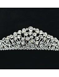 Bastante 4,5 centímetros Áustria strass noivas casamento Tiara Headband