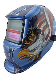 Masque Motif American Eagle Auto solaire assombrissement PP soudage / Casque de soudage