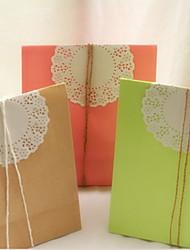 Favoriser Sacs avec papier String - Lot de 6 (plus de couleurs)