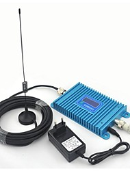 LCD Display GSM 900MHz Mobile Phone GSM980 Signal Booster , GSM Signal Repeater With 10m Cable + Sucker Antenna