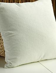 """24 """"Square velours élégant polyester coussin décoratif avec insert"""