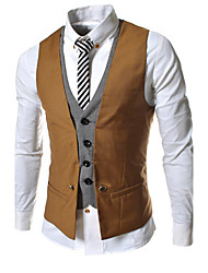 Men's Casual Shirts , Cotton/Others Casual HZLT