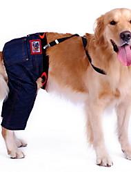 Elegante estilo de lazer Calças globais para animais de estimação cães