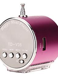 TD-V36  Mini Speaker Support TF/SD/USB