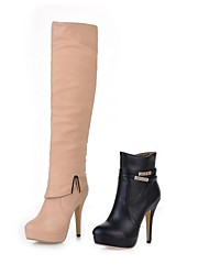Women's Shoes Fashion Boots Stiletto Heel Ankle/Over The Knee Boots(Two Ways available)
