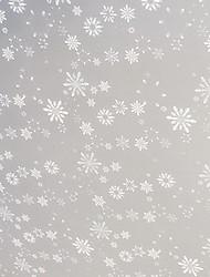 Classique beaux flocons de neige Motif Window Film