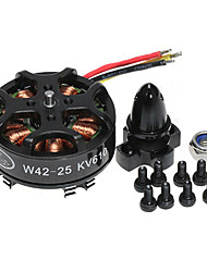 AVS W4225 610KV Brushless Motor (4 Motors)
