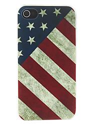 cru américain motif de drapeau matte conçu cas de pc pour iphone 7 7 plus 6s 6 plus soi 5s 5c 5 4s 4