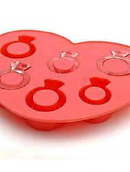 Novelty Ring Style Silicon Ice Cube Mould