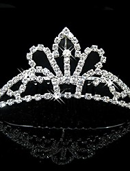 Bridal Wedding Princess Pageant Prom Crystal Tiara Crown Tiaras