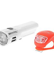 Raypal 4-режиме 5 светодиодных Расширенный асимметричная оптика велосипедов Свет / Фары Комплект (4xAAA, белый)