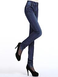 Pantalón De las mujeres Para Trabajo - Denim