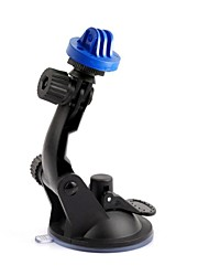 New Blue Plastic Camera Stand Holder with Suction Cup for GoPro HD Hero 2 /3/3+