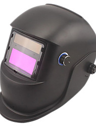 Brown Li Battery Solar Auto Darkening Welding Helmet