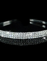 Women's / Flower Girl's Rhinestone Headpiece-Wedding Headbands