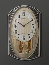 """17.75 """"H Современный стиль Мелодия настенные часы с маятником"""