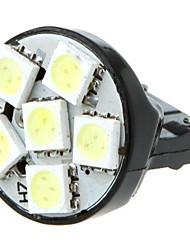 7443 T20 6 5050 SMD LED автомобилей тормоза кабеля Стоп Включите лампа лампы