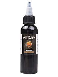Dragonhawk Tattoo Ink 1-Pack Black Color 2Oz Bottles Color Ink