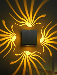 LED/Bulb Included Wall Sconces , Modern/Contemporary LED Integrated Metal