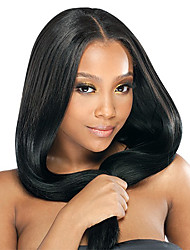 20inch Middle Part Silk Straight Brazilian Remy Hair Glueless Lace Wig 4 color in stock(#1,#1B,#2,#4)