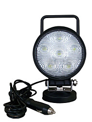 18W Rodada 6LED Modular Heavy Duty da lâmpada Spot Light Work para caminhão