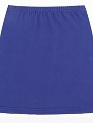Sexy moda del color del caramelo de la falda corta