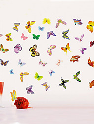 Popular Colorful Butterfly Room Decor Kids Room Wall Sticker