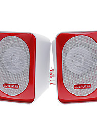 LOYFUN H500 stereo Hi-Fi Speaker Musica per Laptop/Cellphone/MP4/PSP/CD