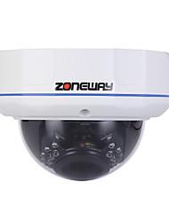 ZONEWAY® Dome IP Camera 2.0MP 20M Night Vision IR-cut Day Night Waterproof P2P