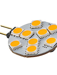 3W G4 / GU4(MR11) Spot LED MR11 9 SMD 5050 135-155 lm Blanc Chaud AC 12 V