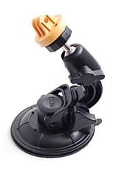 Jaune Universal super puissant voiture ventouse pour GoPro Hero 3/2/1