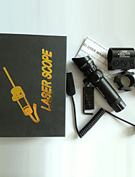 Outside Adjustment Green Laser Sight Dot Scope 135mm Length with Free 20mm Dovetail Mount 8 Figure Mounts