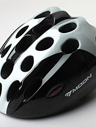 MOON Cycling Black PC/EPS 21 Vents Honeycomb Helmet for children