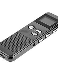 DVR60 цифровой Профессиональный USB Mini Поддержка записи голосовых TF карта Макс 4GB Голос Аудио рекордер с ЖК-формате Показать WAV